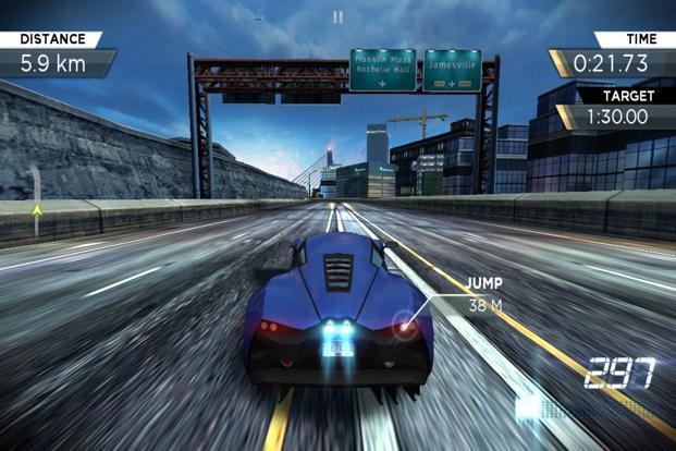 Need for Speed Most Wanted is an immersive racing game.