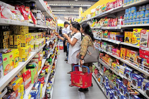 The noteban has yanked a whopping Rs1.2 trillion or 10.2% from the market capitalisation of consumer goods stocks since 8 November . Photo: Mint