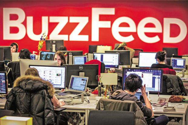 Instead of printing thousands of copies at once like most publishers, BuzzFeed's cookbook is printed on-demand, one at a time, and can be customized. Photo: Reuters