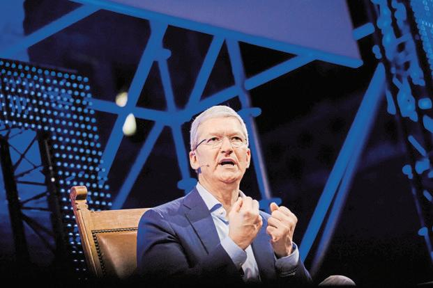 Apple bosses see pay drop in 2016 as Tim Cook reaps $145 ...