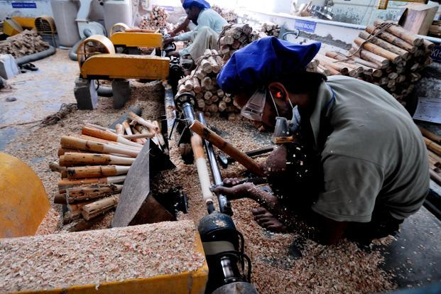 Growth in the manufacturing and construction sectors is expected to decelerate from last year. Priyanka Parashar/ Mint (Growth in the manufacturing and construction sectors is expected to decelerate from last year. Priyanka Parashar/ Mint)