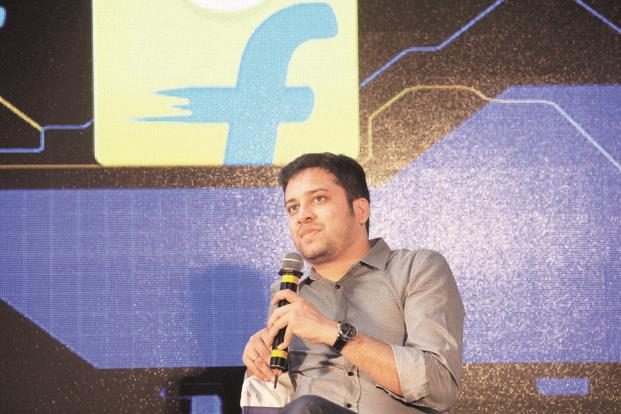 Flipkart co-founder Binny Bansal, who took over chief executive exactly one year ago, now moves to the role of Group CEO. Photo: Kumar/Mint