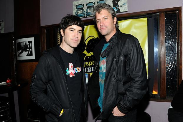 MySpace co-founder Chris DeWolfe (right) says they monetized MySpace too hard, too early, which resulted in its failures.