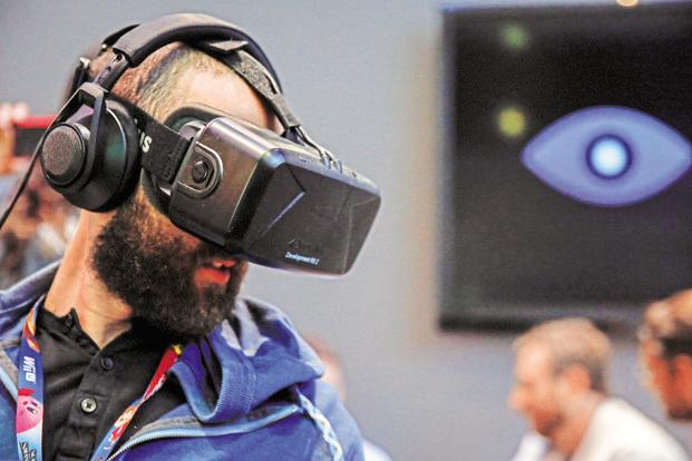 Facebook co-founder Mark Zuckerberg bought Oculus VR to mark the social media firm's foray into virtual reality. Photo: Bloomberg