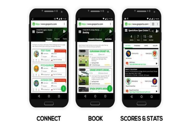 GoSporto app lists 2,503 players and 23 teams in sports such as cricket, fencing and volleyball.