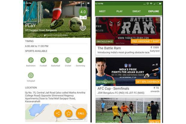 Sportzify helps you book a sports club on an hourly basis.