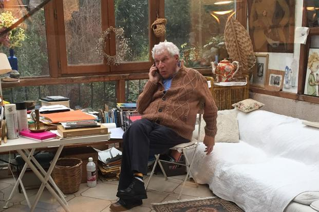 John Berger was a champion of free speech and raged against injustice. Photo: AFP