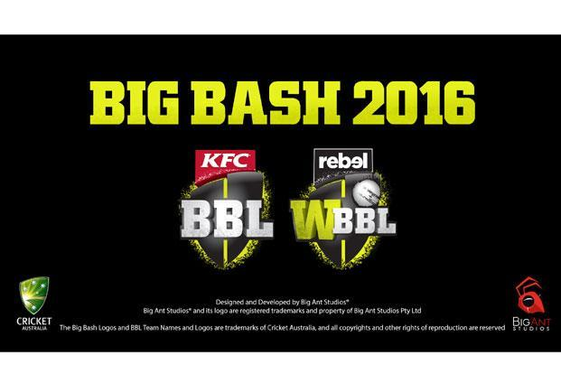 Big Bash 2016 allows you to control licensed teams and players.