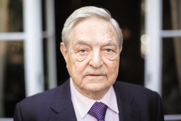 A file photo of George Soros, billionaire and founder of Soros Fund Management. Photo: Bloomberg