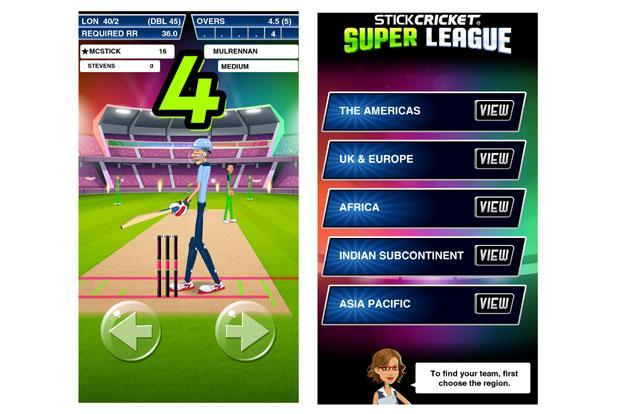 Stick Cricket Super League is inspired by the now discontinued Champion's League cricket tournament.