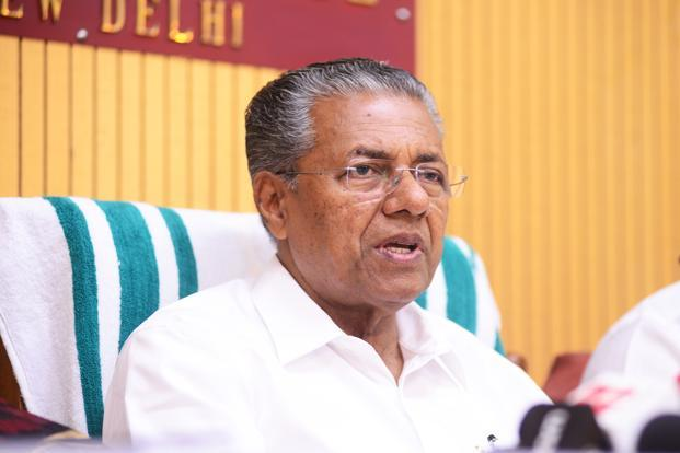 At one point, Kerala chief minister Pinarayi Vijayan intervened and tried to break the ice between the two warring groups, but the efforts went in vain. Photo: Mint