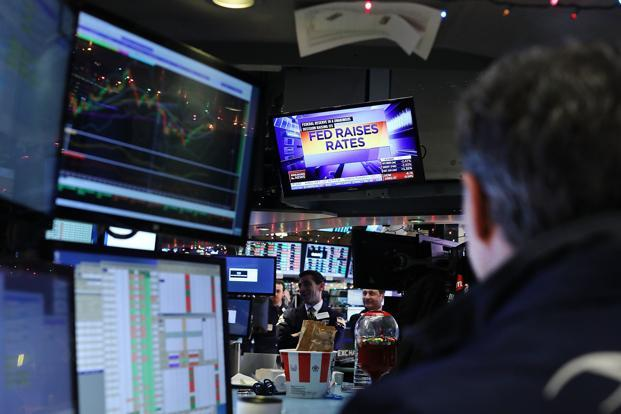 Investors are closely watching Trump's speech, looking for clues on where his priorities as the new president lie, after taking office on 20 January and how he plans boost economic growth. Photo: Getty Images/AFP