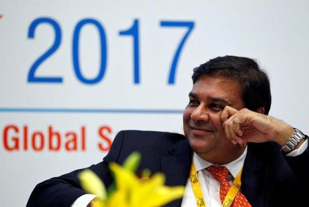 RBI governor Urjit Patel at the Vibrant Gujarat summit in Gandhinagar. Photo: Reuters