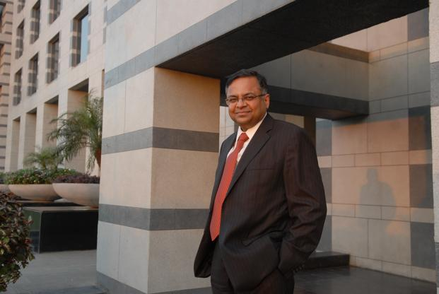 TCS CEO N Chandradsekaran was named Tata Sons chairman on Thursday. Photo: Hemant Mishra/Mint