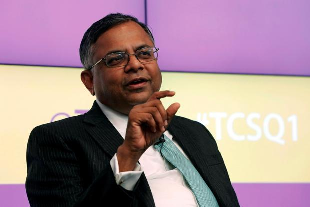 New Tata Sons chairman N Chandrasekaran is a TCS lifer, having joined the company straight after completing his MCA in 1987. Photo: Reuters