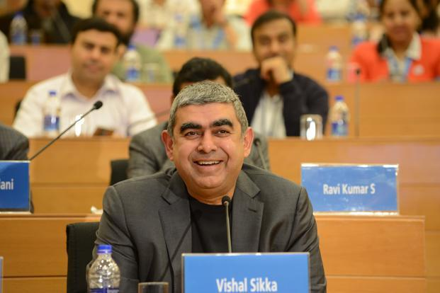 Vishal Sikka, CEO and MD Infosys. Photo: Mint