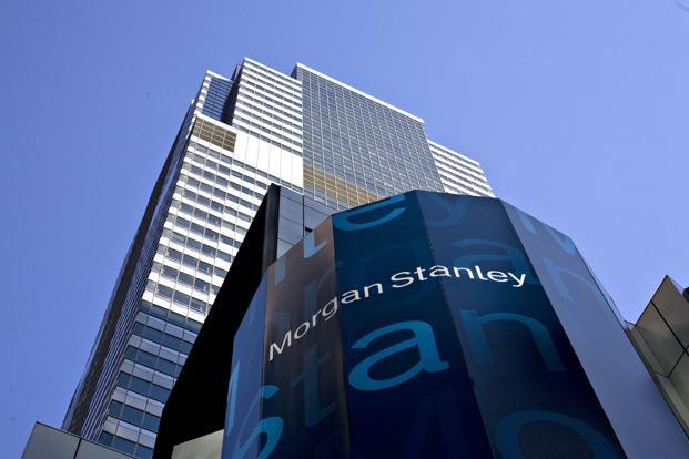 Morgan Stanley's global investment banking fees dropped 13.3% to $4.5 billion. Photo: Bloomberg