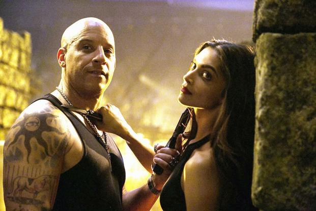 Deepika Padukone (right) makes her Hollywood debut with 'xXx: Return of Xander Cage'.