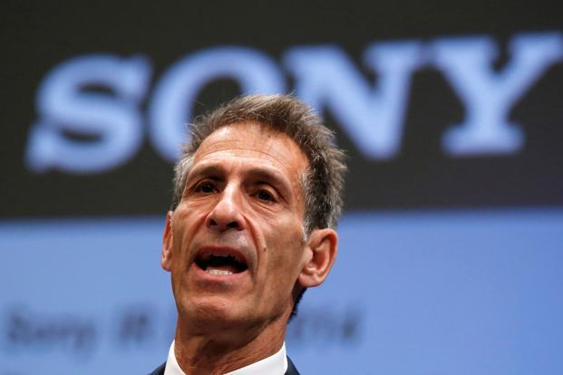 A file photo of  Sony Entertainment CEO Michael Lynton. Reuters