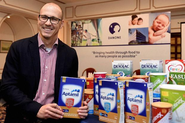 India is the fastest growing market in south Asia for Danone, says Rodrigo Lima, managing director, Danone India. Photo: PTI
