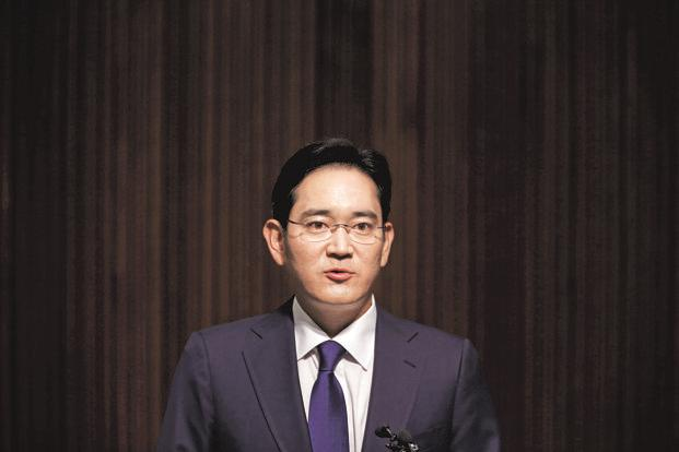 After spending years following his father's footsteps to the chairman's seat of Samsung Group, Jay Y. Lee is trying to avoid the missteps that triggered his father's convictions. Photo: Reuters