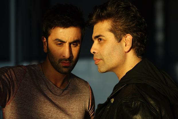 Karan Johar and Ranbir Kapoor.