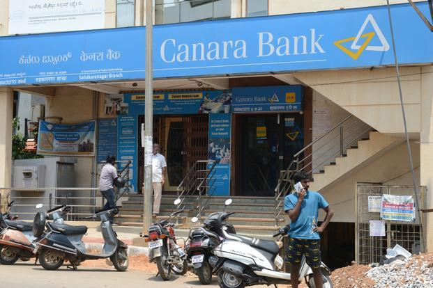 Gross NPAs at Canara Bank rose 3.07% to Rs34,338.65 crore at the end of the December quarter. Photo: Hemant Mishra/Mint