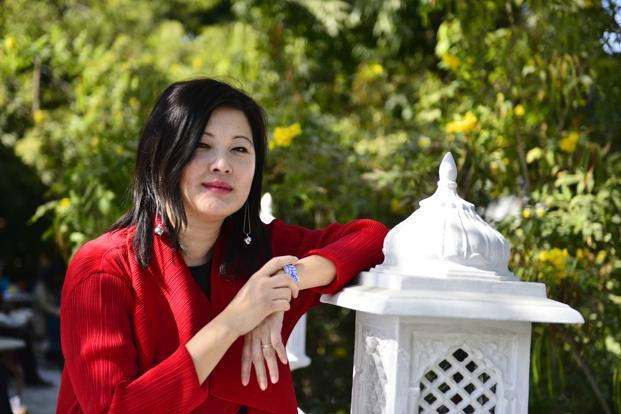Mei Fong at the Jaipur Literature Festival 2017. Photo: Priyanka Parashar/Mint