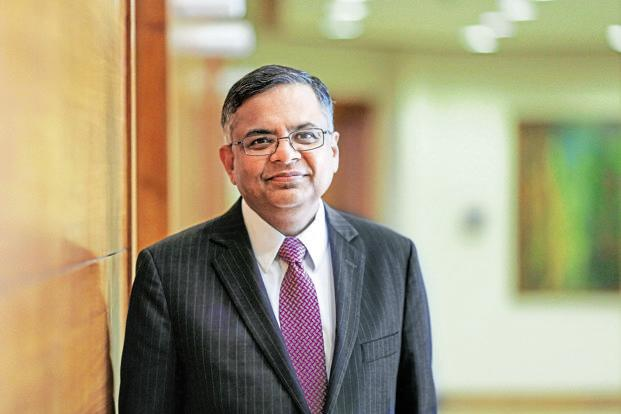 Tata Sons chairman-designate and outgoing TCS CEO N. Chandrasekaran. Photo: Bloomberg