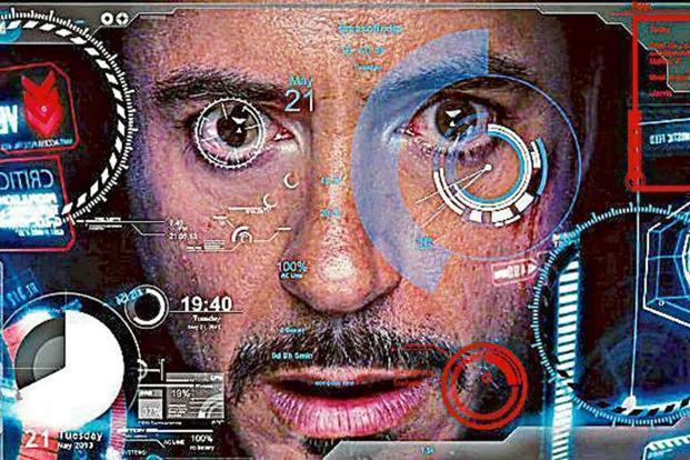 A still from the movie, Iron Man. Machines being trained on voice search will command the next generation of human interface in our day-to-day lives.