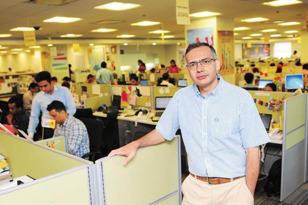 A file photo of MakeMyTrip founder Deep Kalra. Photo: Priyanka Parashar/Mint