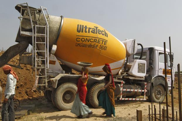 UltraTech net sales dropped 2.53% to Rs5,927 crore from Rs6,013 crore.  Photo: Reuters