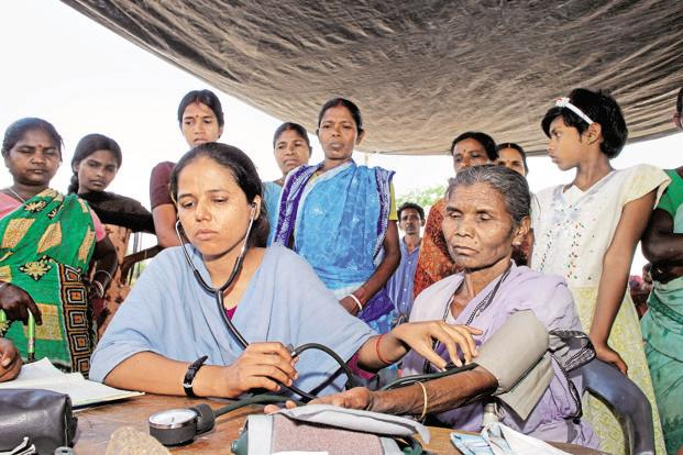 For a sector that is widely acknowledged to be seriously underfunded, states with the poorest health indicators also have the greatest difficulty in spending their meagre resources. Photo: Mint