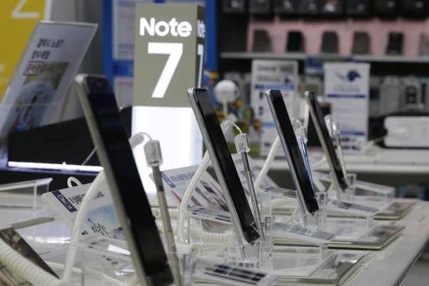 Samsung hasn't yet detailed the cost of Galaxy Note 7 debacle. Photo: AP