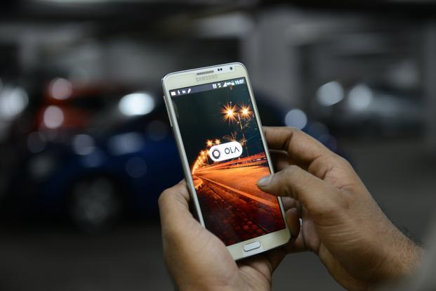 Ola has been strengthening its leadership team as it strives to expand its lead over Uber Technologies Inc. Photo: Hemant Mishra/Mint