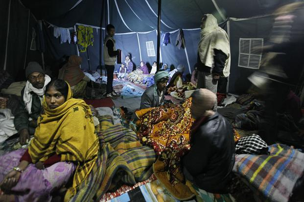 A shelter home in New Delhi. Photo: Raj K. Raj/ Hindustan Times