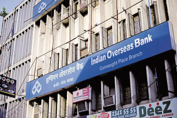Indian Overseas Bank's total advances dropped 3.5% quarter-on-quarter to Rs1.54 trillion, as on 31 December.