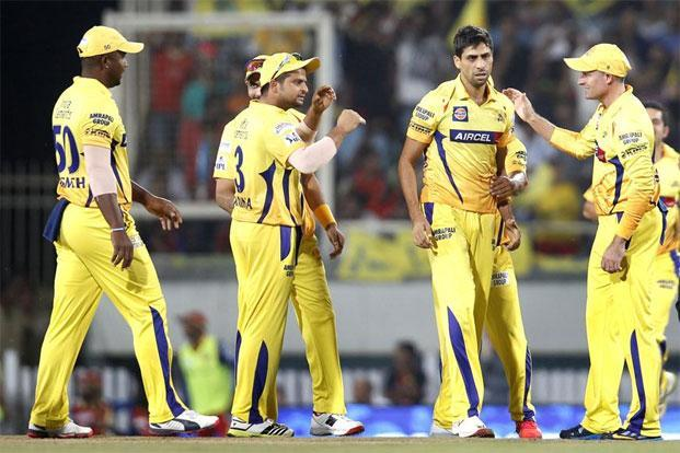 Ashish Nehra's (second from right) performance for the former IPL team Chennai Super Kings brought him back into the reckoning. Photo: Ajay Aggarwal/Hindustan Times