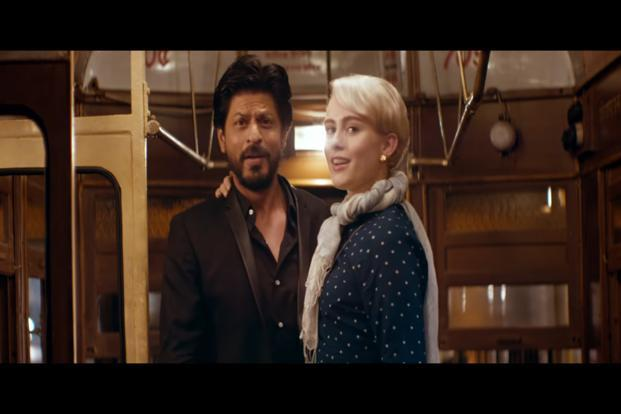 The over three-minute-long digital film, starring Shah  Rukh Khan, traces the journey of a young foreign woman who comes to attend a wedding and decides to explore West Bengal.
