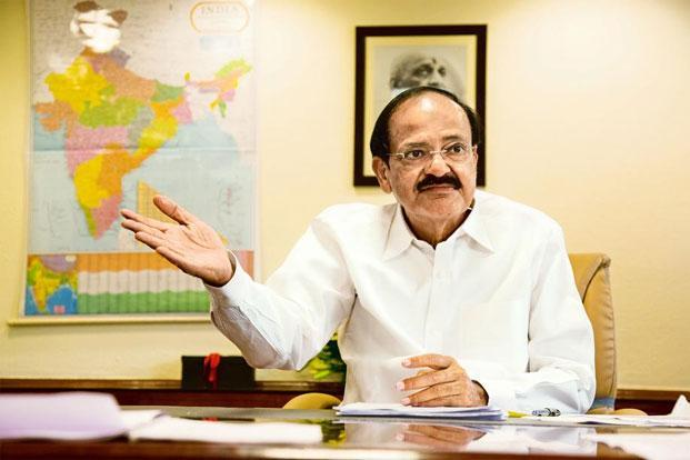 In a statement released by the information and broadcasting ministry last week, Naidu had conveyed ministry's intentions to hold consultations and detailed discussions with the stakeholders on the wage board issue. Photo: Mint