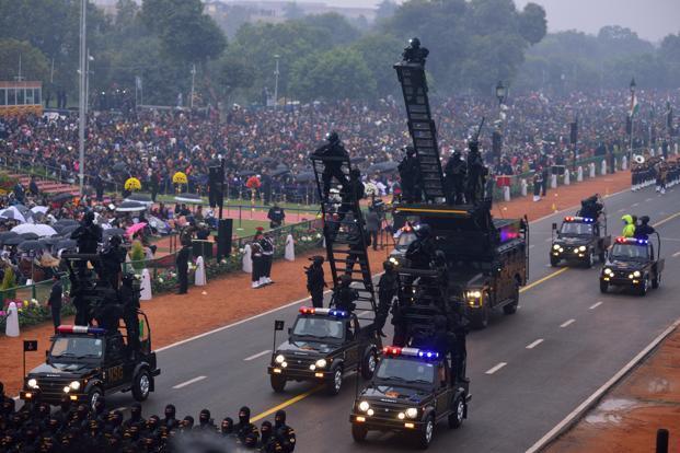 Nsg Commandos Debut At Republic Day Parade Livemint
