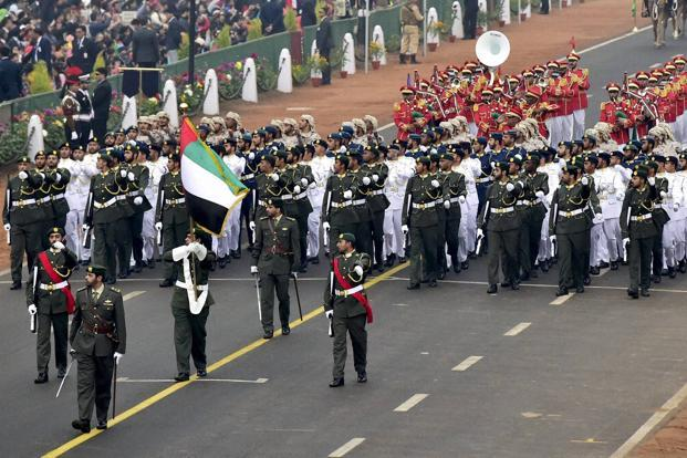 Image result for uae military march india