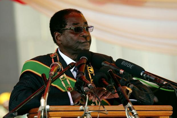 Zimbabwe's economy stagnated last year, fanning anti-government protests and compounding President Robert Mugabe's problems ahead of national elections due in 2018. Photo: AFP