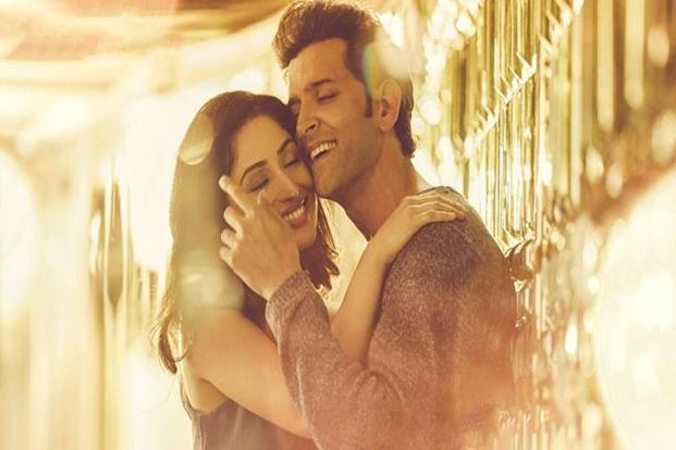Hrithik Roshan and Yami Gautam in a still from 'Kaabil'