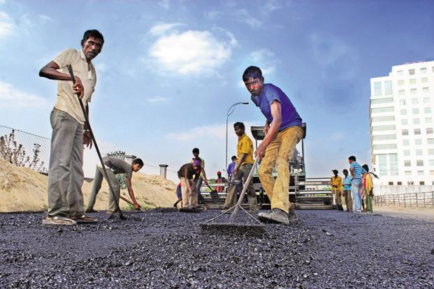 As per officials at the rural development ministry, 48,812 km of rural roads will be laid by 31 March 2017. Photo: Indranil Bhoumik/Mint
