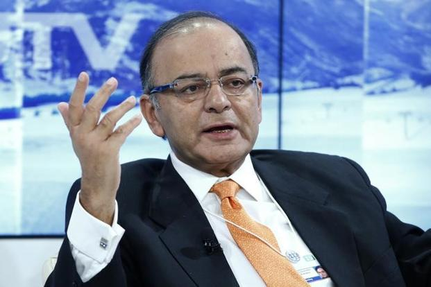 File photo. Finance minister Arun Jaitley may have to turn off the tap to the public infrastructure investment that's been underpinning even the modest growth seen so far. Photo: Reuters