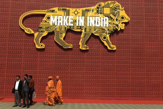 Launched amid great fanfare in 2015 and followed up by renewed impetus during Hannover Messe in 2016, 'Make in India' has been seen as a critical effort in creating jobs in the country following a decade of jobless growth. Photo: Abhijit Bhatlekar/Mint