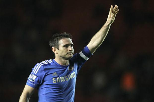 Frank Lampard, who started his career at West Ham United, established himself as one of Europe's finest midfield players during a 13-year spell at Chelsea. Photo: AP