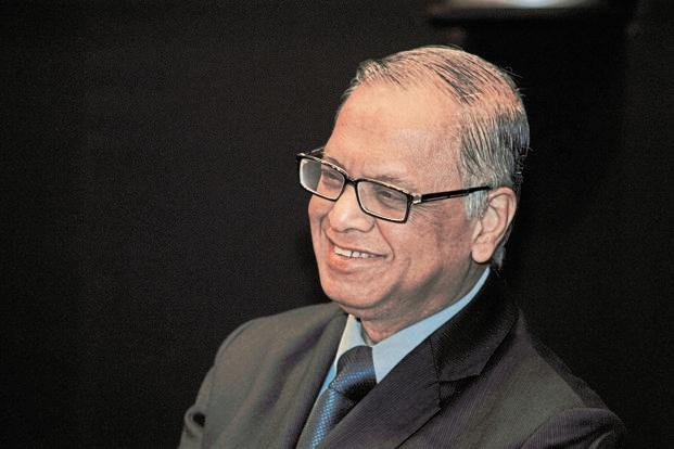 N.R. Narayana Murthy  stated that by and large Indian mindset is always to take the soft option. Photo: Mint