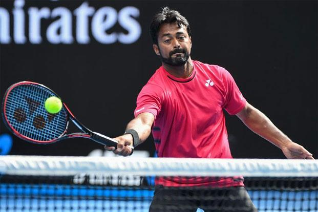 Paes is aiming to become the owner of most doubles wins in the Davis Cup. Photo: AFP